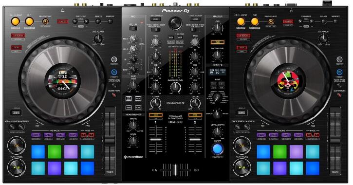 Pioneer DJ DDJ-800, one of the 5 best mid-tier DJ controllers in 2021
