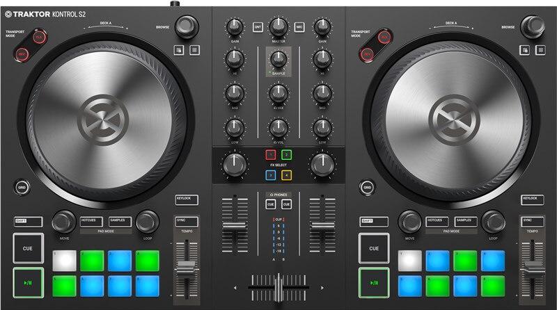 Traktor Kontrol S2 Mk3 - the best DJ controller for beginners if you use Traktor