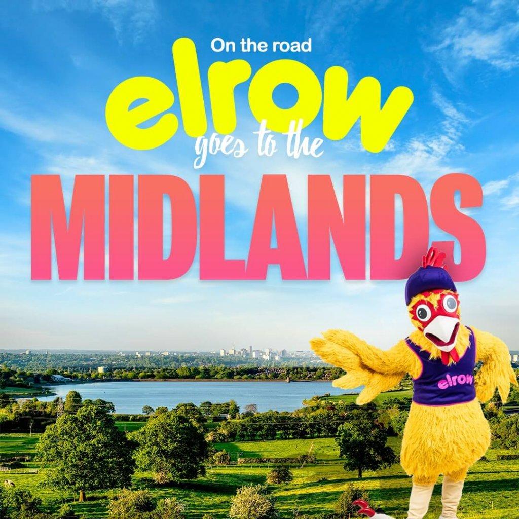 Elrow Midlands 2021 - Promo flyer