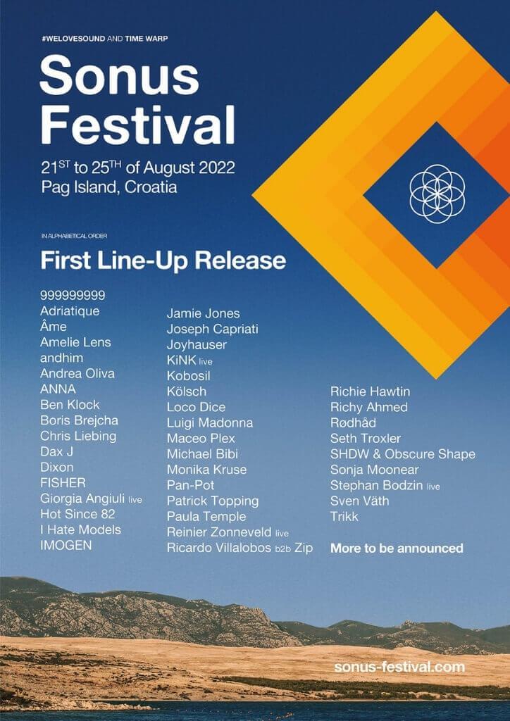 Sonus Festival lineup 2022