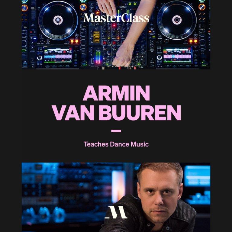 rmin Van Buuren Teaches Dance Music