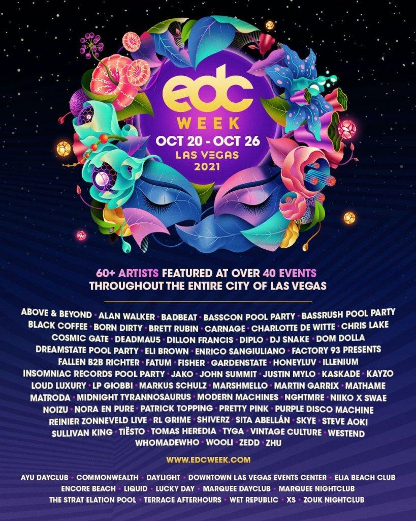 EDC week 2021 lineup