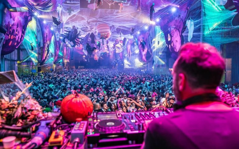 Elrow Halloween at The Drumsheds this October, 2021