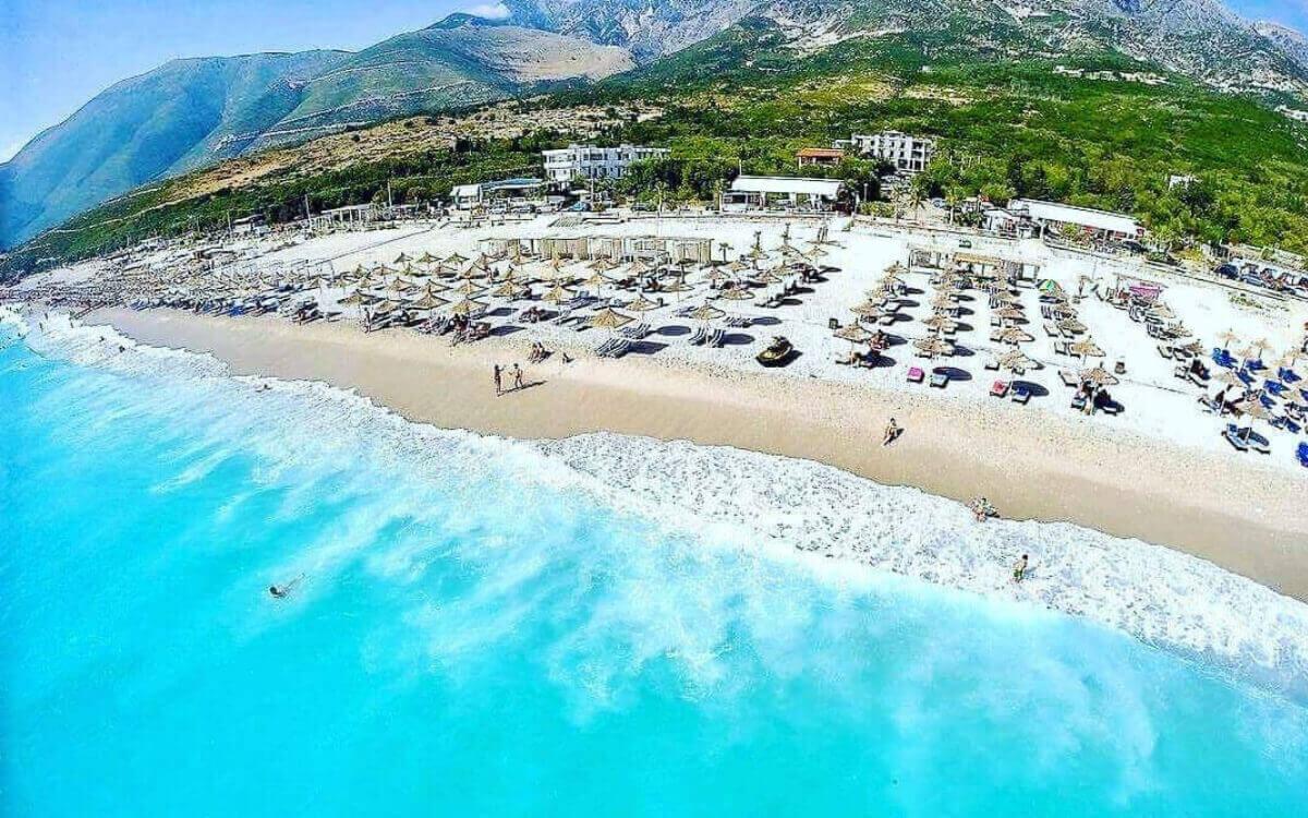 Hospitality on the beach Albania 2022