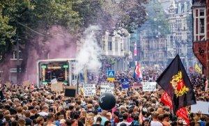 Unmute Us Amsterdam protest - header
