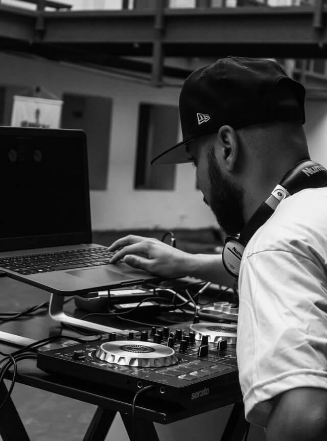 DJ popup