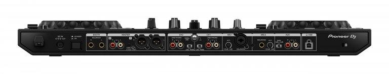 Pioneer DJ DDJ-800 (rear view)