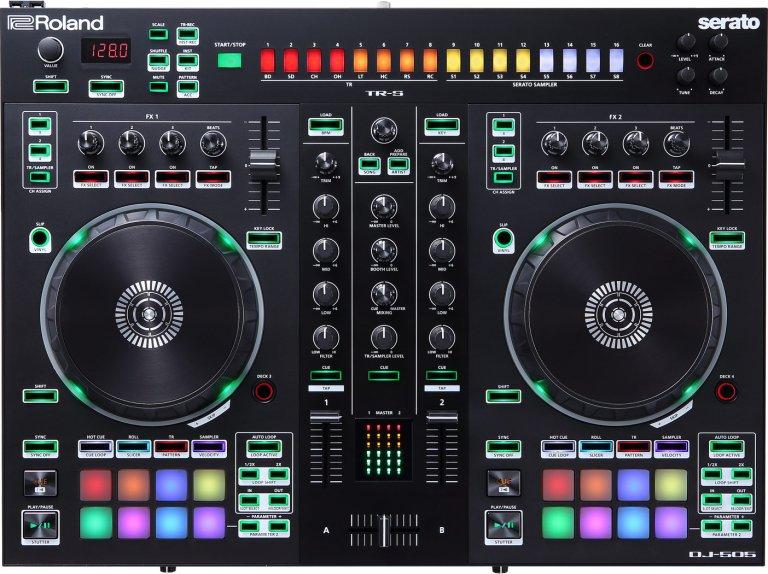 Roland DJ-505 (birds-eye view)