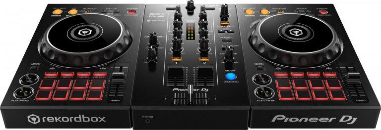 Pioneer DJ DDJ-400 (front angle)