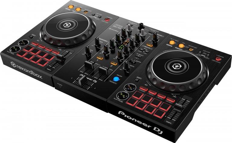 Pioneer DJ DDJ-400 (angle)