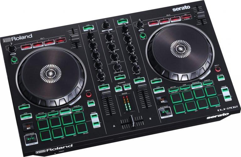 Roland DJ-202 (birds-eye angle)