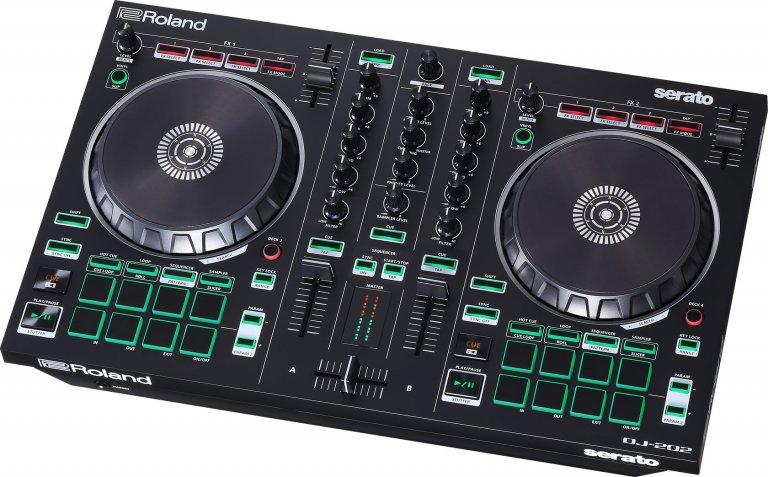 Roland DJ-202 (birds-eye angle #2)