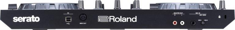 Roland DJ-202 (rear view)